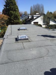 Bitumen dak bij particulieren